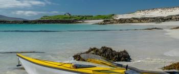 Taransay landing beach near Paibeil