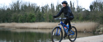 Cycling the Hilsea Lines