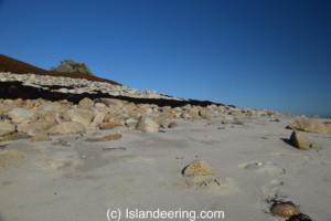 Nornour's beach, Scilly