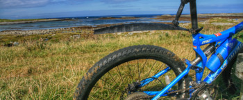 Coastal cycle route Tiree