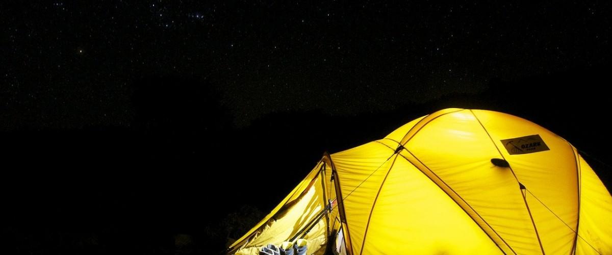 Brownsea Island camping