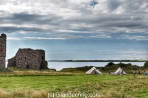 Piel Island camping