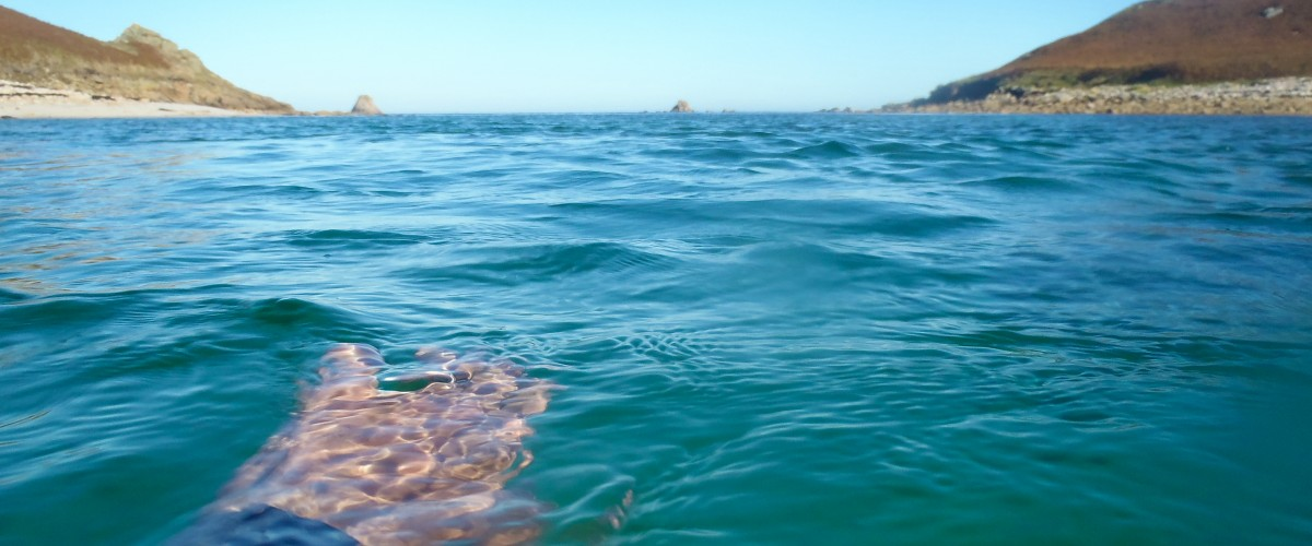 Wild swimming - Scilly