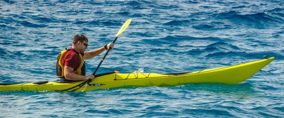 Sea kayaking Scilly