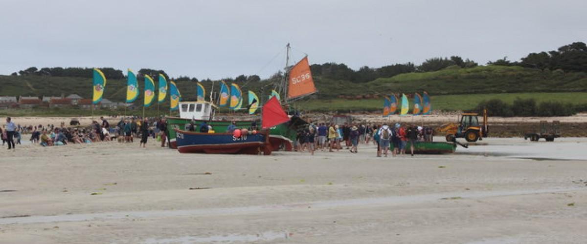 Low tide event Tresco