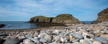 Circular walk Anglesey Coast Path Church Bay