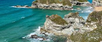 Porth island to Watergate Bay circular walk